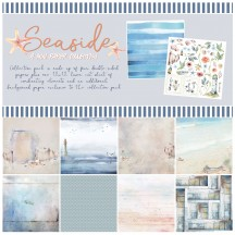 "49 and Market Seaside 12""x12"" Collection Pack S-31757"
