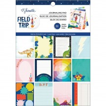 "American Crafts Shimelle Field Trip 6""x8"" Journaling Pad Pad 352206"