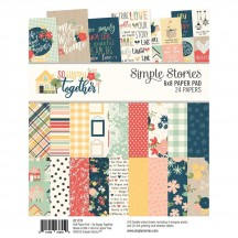 "Simple Stories So Happy Together 6""x8"" Double-Sided Paper Pad 11731"