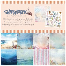 "49 and Market Shipwreak 12""x12"" Collection Pack S-31801"