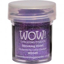 WOW! Shrinking Violet Embossing Powder 15ml - Glitter - WS54 (R)