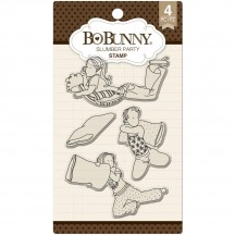 Bo Bunny Slumber Party Clear Stamp Set 12105291
