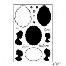 "Maya Road 4""x6"" Clear Stamp Set - Cameo SMP1901"
