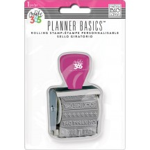 Me & My Big Ideas Create 365 The Happy Planner Basics Bright Phrase Roller Stamp SMPR-04