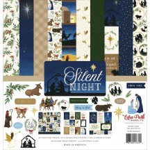 "Echo Park Silent Night Christmas 12""x12"" Collection Kit SN222016"
