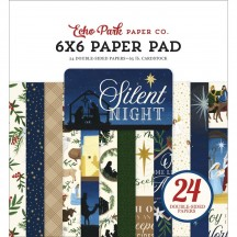 "Echo Park Silent Night Christmas 6""x6"" Double-Sided Paper Pad SN222023"