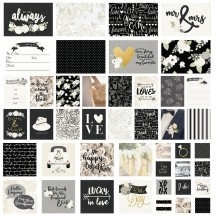 Simple Stories Always & Forever Wedding Sn@p! Card Pack 10077