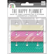 Me & My Big Ideas Create 365 The Happy Planner Snap In Tabs RST-04