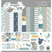 "Photoplay Snuggle Up Boy 12""x12"" Collection Pack SNG9245"