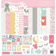 "Photoplay Snuggle Up Girl 12""x12"" Collection Pack SNG9256"