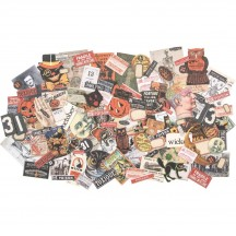 Tim Holtz Idea-ology Halloween Snippets Die Cut Ephemera Pack TH93983