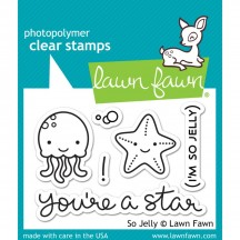 Lawn Fawn So Jelly Clear Stamps LF899