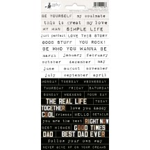 P13 Soulmate Word & Phrase Stickers 01 P13-MAT-11