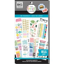 Me & My Big Ideas The Happy Planner Be Yourself Value Pack Stickers SP1H30-012