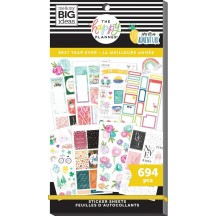 Me & My Big Ideas The Happy Planner Best Year Ever Value Pack Stickers SP1H30-013