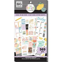 Me & My Big Ideas The Happy Planner Cool to be Kind Value Pack Stickers SP1H30-014