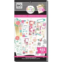 Me & My Big Ideas The Happy Planner Layered Florals Value Pack Stickers SP1H30-025