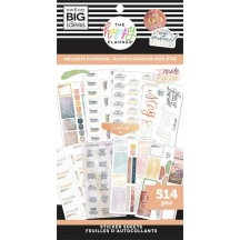 Me & My Big Ideas The Happy Planner Wellness Planning Value Pack Stickers SP1H30-035