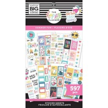 Me & My Big Ideas The Happy Planner Summer Fun Value Pack Stickers SP1H30