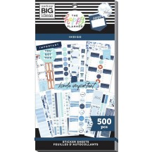 Me & My Big Ideas The Happy Planner Indigo Classic Value Pack Stickers SP1H30-098