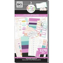 Me & My Big Ideas The Happy Planner Save Now, Spend Later Budget Classic Value Pack Stickers SP1H30-100