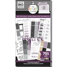 Me & My Big Ideas The Happy Planner Girl with Goals Classic Value Pack Stickers SP1H30-105