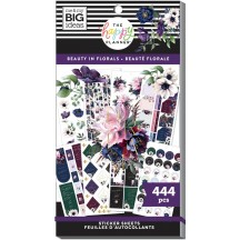 Me & My Big Ideas The Happy Planner Beauty in Florals Classic Value Pack Stickers SP1H30-136