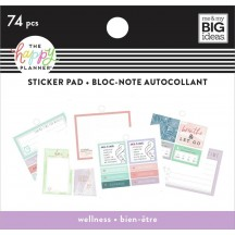 Me & My Big Ideas The Happy Planner Tiny Sticker Pad Wellness SP2H20-013