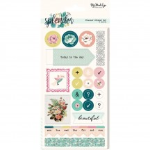 My Mind's Eye Splendor Cardstock Planner Stickers SPL122