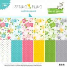 "Lawn Fawn Spring Fling 12""x12"" Collection Pack LF1877"