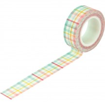 Echo Park I Love Spring Springtime Plaid Decorative Washi Tape LSP204026