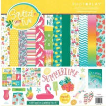 """Photoplay Squeeze In Some Fun 12""""x12"""" Collection Pack SQF9325"""