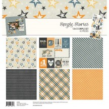 "Simple Stories Dad Life 12""x12"" Simple Sets Collection Kit 10709"