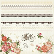 "Kaisercraft On This Day 12""x12"" Border & Element Sticker Sheet SS182"