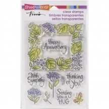 Stampendous Leafy Frame Clear Stamp Set SSC1371