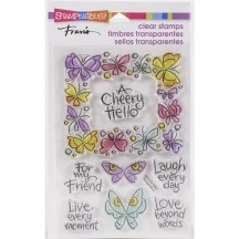Stampendous Winged Frame Clear Stamp Set SSC1372