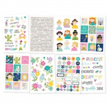 Simple Stories Little Princess Stickers 10571