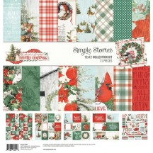 "Simple Stories Simple Vintage Country Christmas 12""x12"" Collection Kit 11300"