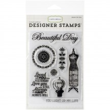 "Carta Bella Yesterday 4""x6"" Clear Stamps CBS35034"