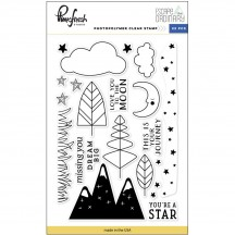 """Pinkfresh Studio Escape the Ordinary 4""""x6"""" Clear Stamp Stamp Set PFRC30137"""