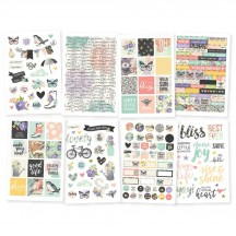 Simple Stories Bliss Stickers 10022