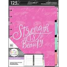 Me & My Big Ideas CLASSIC Happy Planner Strength is Beauty Fitness Extension Kit AEPCEP-030