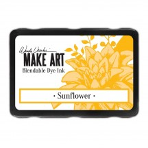 Ranger Wendy Vecchi Sunflower Make Art Dye Ink Pad WVD62653 yellow