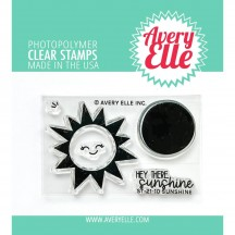 "Avery Elle Sunshine 2""x3"" Clear Stamp Set ST-21-10"