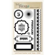 My Mind's Eye Lost & Found Two Stamp Set - Sunshine Lovely