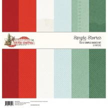 "Simple Stories Simple Vintage Country Christmas Simple Basics 12""x12"" Paper Kit 11315"