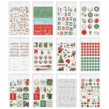 Simple Stories Simple Vintage Country Christmas Mini Sticker Tablet 11323
