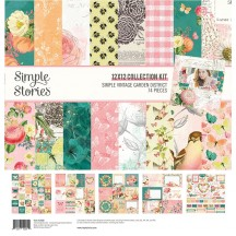 "Simple Stories Simple Vintage Garden District 12""x12"" Collection Kit 12500"