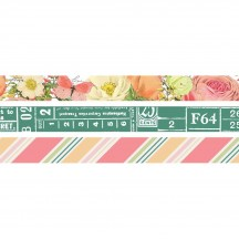 Simple Stories Simple Vintage Garden District Washi Tape 3 Roll Pack 12521