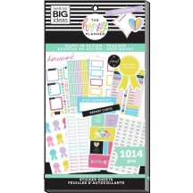 Me & My Big Ideas The Happy Planner Happy in Action Teacher Value Pack Stickers SVP130-001